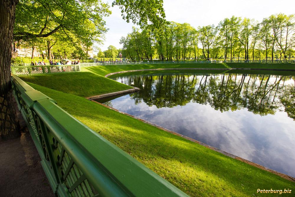 где находится летний сад в петербурге
