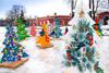 Новогодние елки в Санкт-Петербурге
