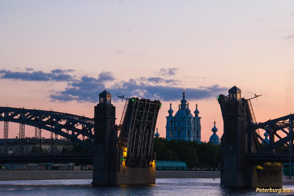 фото мосты разводные мосты
