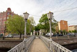 Львиный мост в Санкт-Петербурге