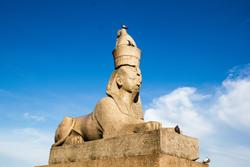МЕгипетские сфинксы в Санкт-Петербурге