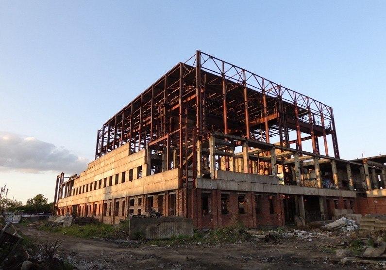 государственное скелет заброшенное здание на полюстровском 52 этом все жилье