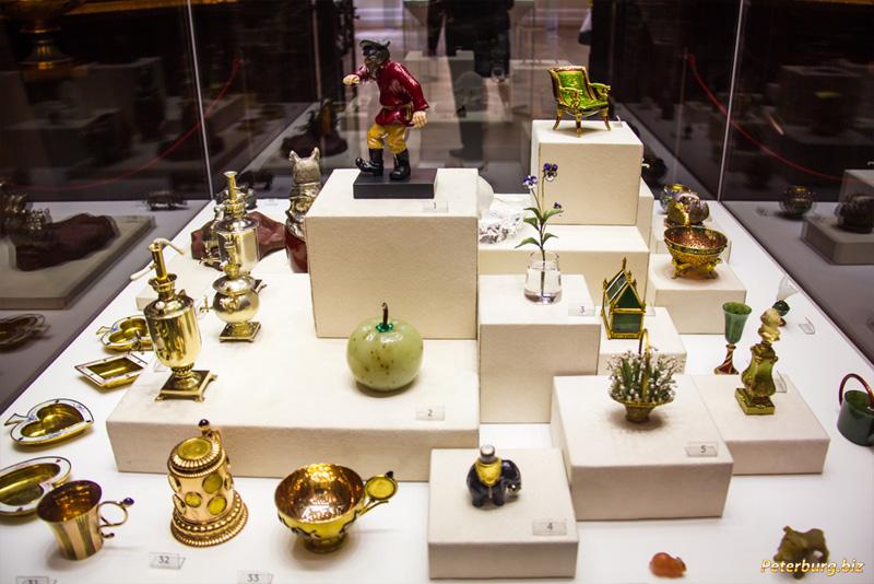 Музей Фаберже в Санкт-Петербурге - коллекция objets de fantaisie