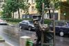 Памятник фонарщику в Санкт-Петербурге