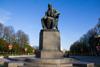 Памятник А.С. Грибоедову в Санкт-Петербурге