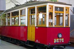 Музей электрического транспорта (музей трамваев) в Санкт-Петербурге