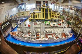 Музей-выставка моделей из LEGO в Санкт-Петербург
