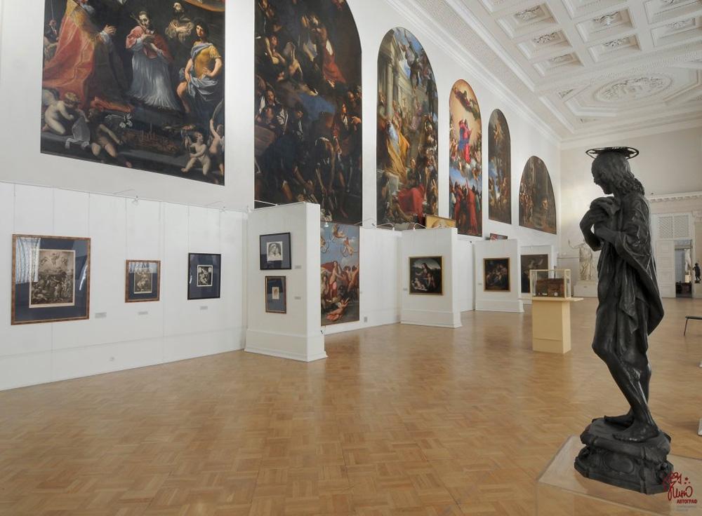 Научно исследовательский музей Российской Академии художеств в  Музей Российской Академии художеств