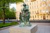 Памятник «Царь-плотник» в Санкт-Петербурге