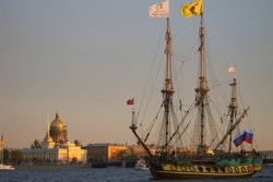 Корабль-музей фрегат «Штандарт» в Санкт-Петербурге